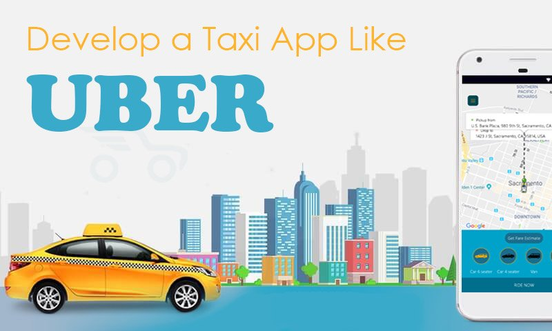 develop a taxi app like uber