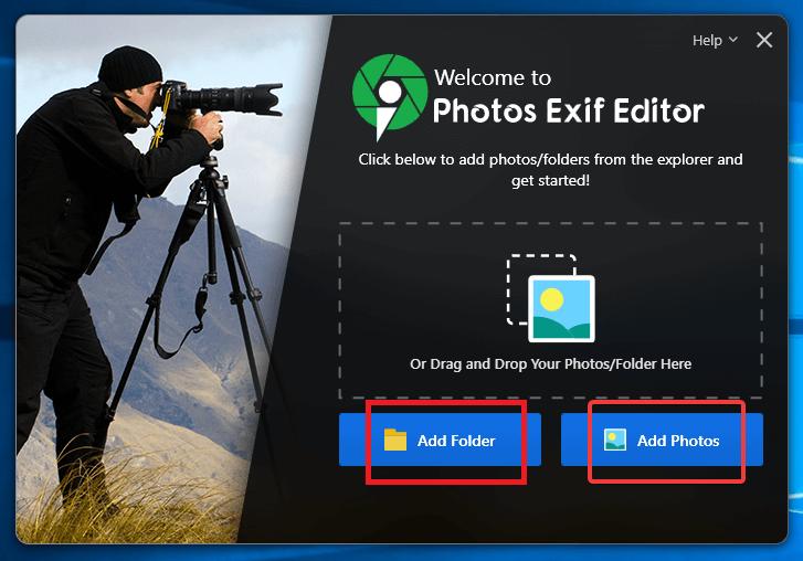 Photos EXIF Editor (Windows & Mac)